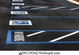 Car-Lot - Handicapped Parking