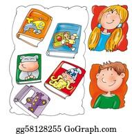 Boy-Reading - Comic Books, Children's Reading,