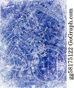 Sheet - Parchment Sheet With Blueprint