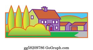 Front-Door - House Illustration