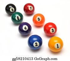 Cue-Ball - Billiard Balls