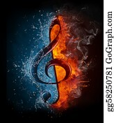 Musical-Notes - Treble Clef
