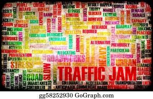 Roadworks - Traffic Jam
