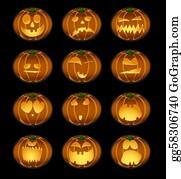 Scary-Pumpkin - Halloween