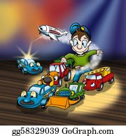 Tractor-Trailer - Cartoon Toys
