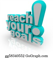 Skying - Reach Your Goals - 3d Words Encourage You To Succeed