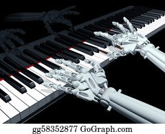 Music-Notes-On-Piano-Keyboard - Computer Music