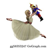 Nutcracker-Illustration - Clara And The Nutcracker Doll - 3