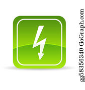 Lightning-Bolt - Green Lightning Bolt Icon