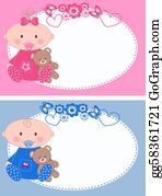 Baby-Girls - Newborn Baby Cards