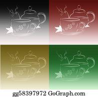 Tea-Pot - Tea Pot And Cup