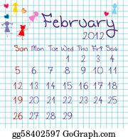 February - Calendar For February 2012