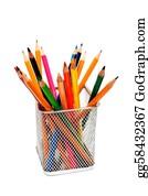 Basket - Pencils