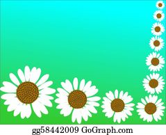 Herbs - White Flowers Herbs Illustration