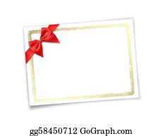 Congratulations - Card For Invitation Or Congratulation To Holiday. White Isolated Background.