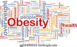Overweight - Obesity Fat Background Concept
