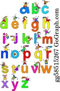 Little-Girls - Alphabet Children