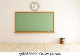 Trained - Empty Classroom