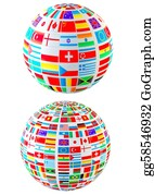 Globe-Flags - World Flags
