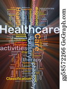 Health-Care - Healthcare Background Concept Glowing