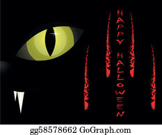 Halloween-Dog - Cat's Eyes