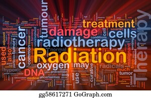 Therapy - Radiation Therapy Background Concept Glowing