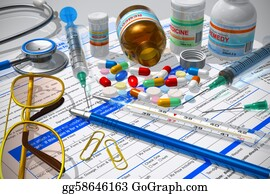 Prescription-Drugs - Medical/pharmacy Concept