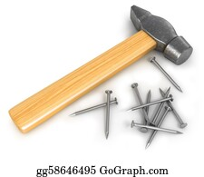 Tack - Hammer With Few Nails