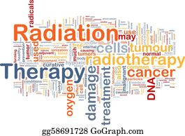 Therapy - Radiation Therapy Background Concept