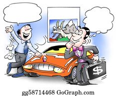Goat-Cartoon - Buy A Car And Support A Mountain Goat