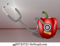 Band-Aid - Stethoscope And Vegetable