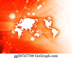 Map-Of-India - World Map Technology Style