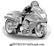 Motorcycle - Dragbike