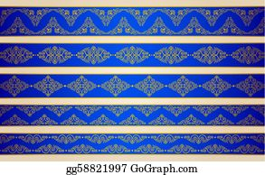 Classic-Victorian-Pattern - Vintage Tapestry Background.