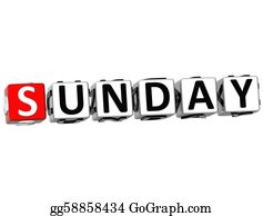 Weekday - 3d Sunday Block Text