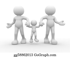 Illustration-With-Happy-Family - Family