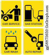 Wash - Car Service, Fuel Station, Auto Repair