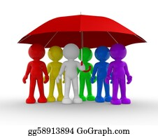 Group-Of-People - Umbrella