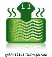 Goods-And-Services - Green Hot Tub / Spa Bath / Bathtub
