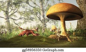 Forest - Dangerous Fairytale Forest