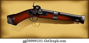 Antique-Pistols - Ancient Gun