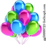 Retirement-Party - Happy Birthday Balloons Decoration