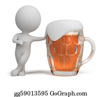 Beer - 3d Small People - Beer