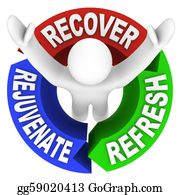 Therapy - Recover Rejuvenate Refresh Words Self Help Therapy