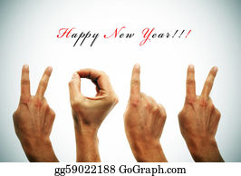 Number-One-Finger - Happy New Year 2012