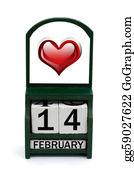February - Happy Valentines Day