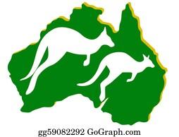 Australia - Australia. Kangaroo