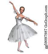 Nutcracker-Illustration - Snowflake Ballerina - 1