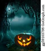 Scary-Pumpkin - Halloween Design
