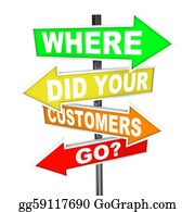 Basement - Where Did Your Customers Go Signs - Finding Lost Customer Base